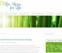 Zen Moms for Life - Wordpress Website Designs